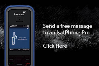 Send a text message to an IsatPhone Pro